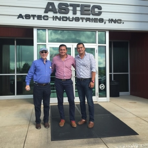 Visita a Astec, Inc., Asphalt Drum Mixers y Roadtec